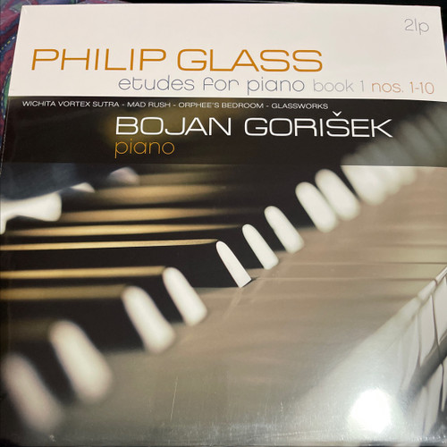 Philip Glass - Études for Piano book 1-10 and 11-20 on 2 double LPs Bojan Gorišek - piano (4 LPs)