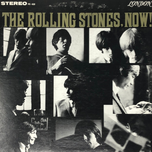 The Rolling Stones - Now! (Blue London Label)