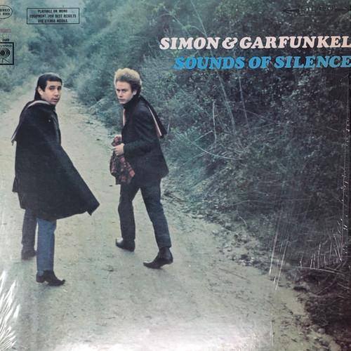 Simon & Garfunkel - Sounds of Silence (Two Eye Columbia Stereo Pressing in Open Shrink G+)