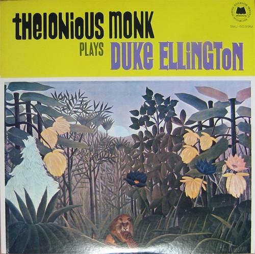 Thelonious Monk - Thelonious Monk Plays Duke Ellington (Japanese Import)