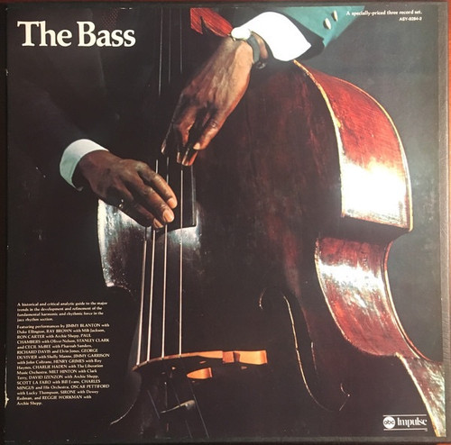 Various - The Bass - Impulse Compilation Box Set