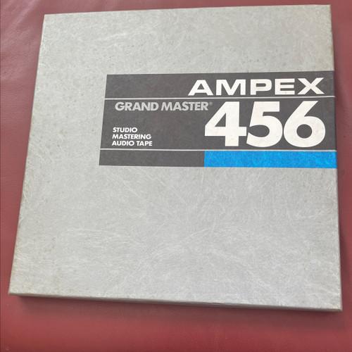 Ampex 456 Grand Master Studio Mastering Tape
