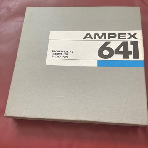 Ampex 641 Professional Recording Audio Tape