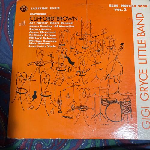 "Clifford Brown Gigi Gryce Blue Note BLP 5050 10"" LP DG mono Ear Lex Flat"