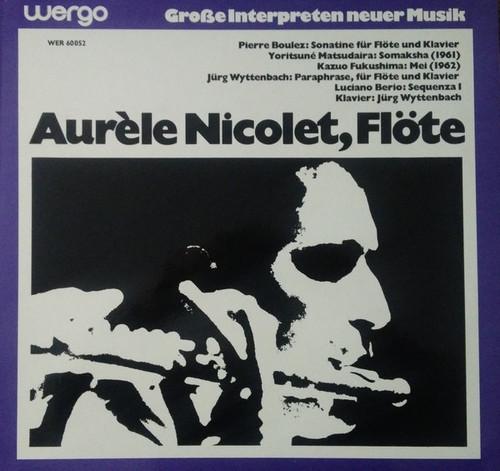 Aurèle Nicolet - Flöte