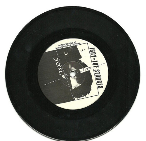 """The Stooges - T.V. Eye / I Feel Alright (rare 7"""" boot)"""