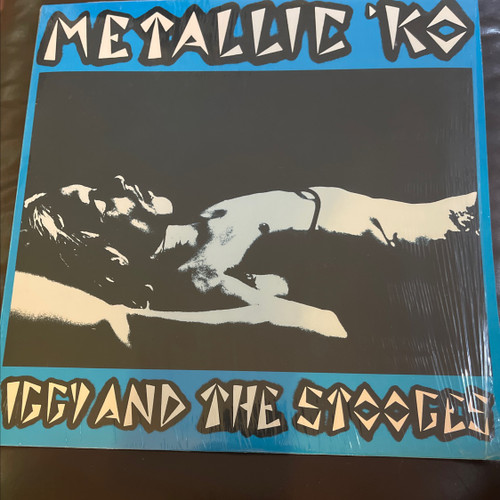 The Stooges - Metallic 'KO ( 1977 pressing in shrink with iron on Stooges transfer, vinyl is NM)