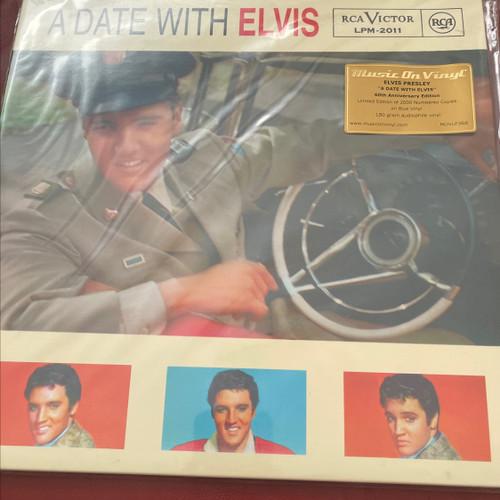 Elvis Presley - A Date with Elvis (MOV Blue Vinyl)