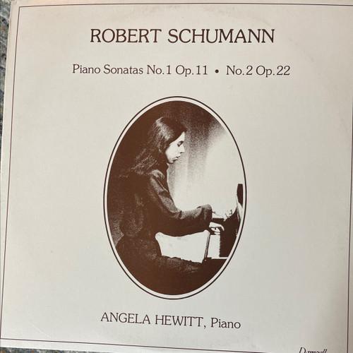 ANGELA HEWITT - SCHUMANN piano sonatas nos.1 & 2 DAMZELL LP NM