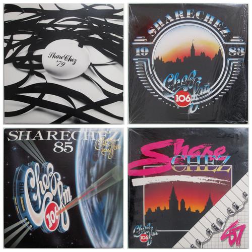 SharChez  '79 / '83 / '85  / '87 Four LP Lot!