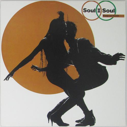 Soul II Soul – Keep On Movin' (LP + Single)