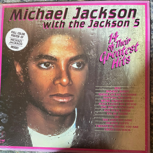 Michael Jackson with the Jackson 5 ( NM with poster)