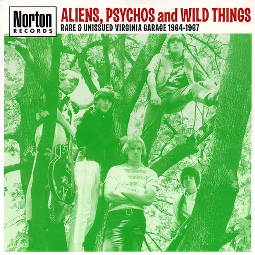 Various - Aliens, Psychos And Wild Things