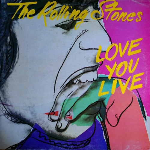 The Rolling Stones - Love You Live (1977 UK VG+/VG+)
