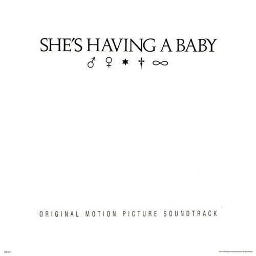 Various - She's Having A Baby (Original Motion Picture Soundtrack) Sealed Original 1988 release