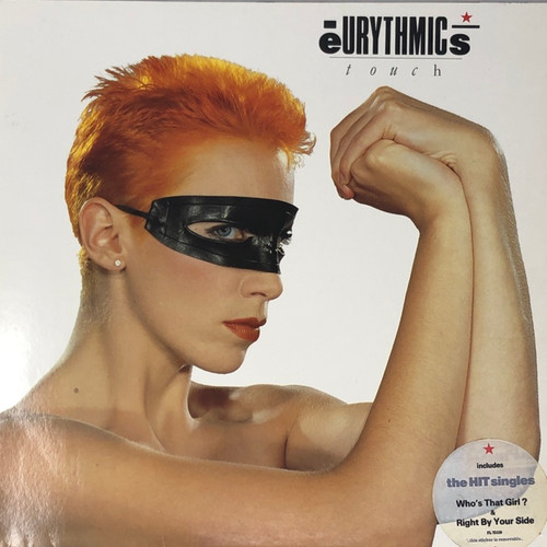 Eurythmics - Touch (UK Press with Hype Sticker)