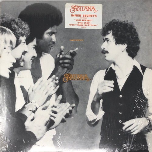 Santana - Inner Secrets (In Open Shrink with Hype Sticker)