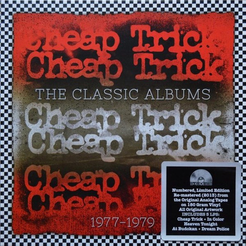 Cheap Trick - The Classic Albums 1977 - 1979 (RSD 2013 Numbered Boxset)