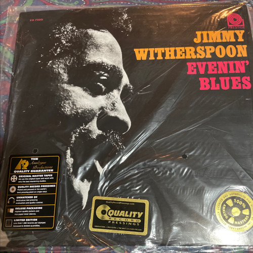 Jimmy Witherspoon - Evenin' Blues (Analogue Productions 200g)