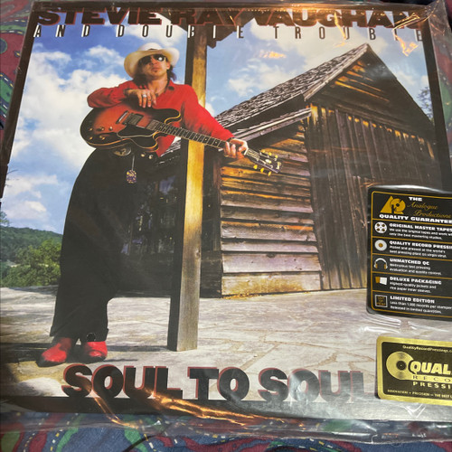 Stevie Ray Vaughan - Soul to Soul (Analogue Productions 200g)