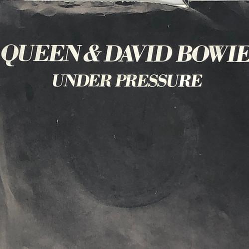 "Queen / David Bowie - Under Pressure (UK 7"" Single - See Description)"