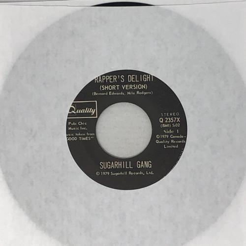 "Sugarhill Gang - Rapper's Delight (Canadian 7"" Single)"