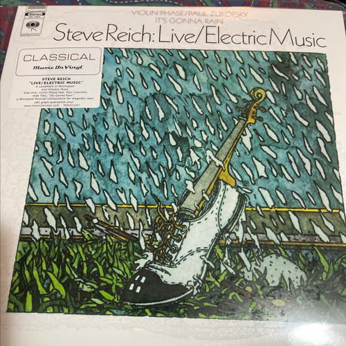 Steve Reich - Live / Electric Music