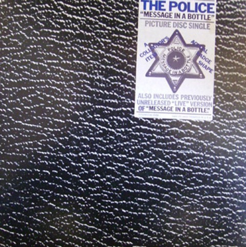 The Police - Message In A Bottle ( Star Badge Picture