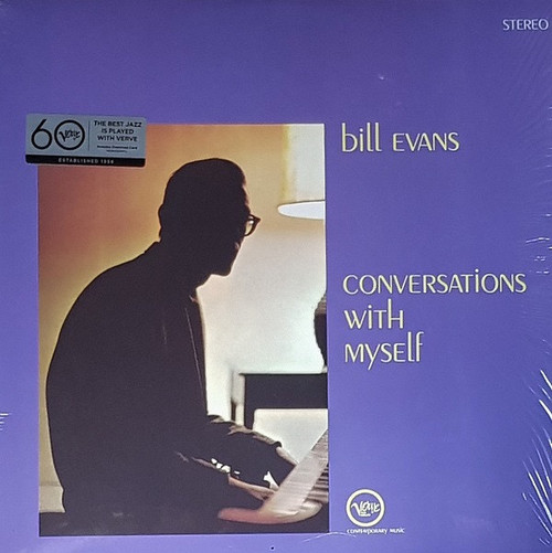 Bill Evans - Conversations With Myself ( Sealed - Bill Plays Glenn Gould's  CD 318 piano!)