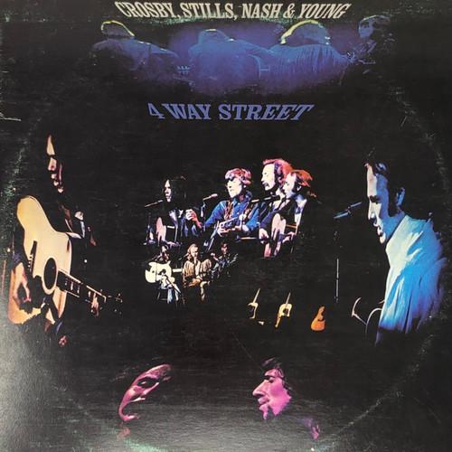 Crosby, Stills, Nash & Young - 4 Way Street (VG/G+)