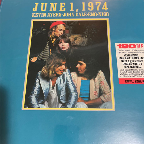 Kevin Ayers, John Cale, Eno, Nico - June 1, 1974 (Limited Edition )