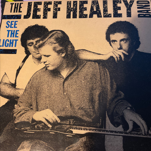 The Jeff Healey Band - See The Light ( 1989 NM)