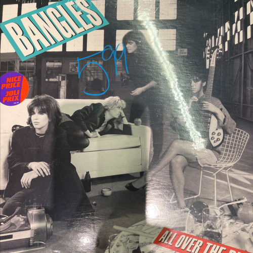 Bangles - All Over The Place (Sealed 1984 original copy)