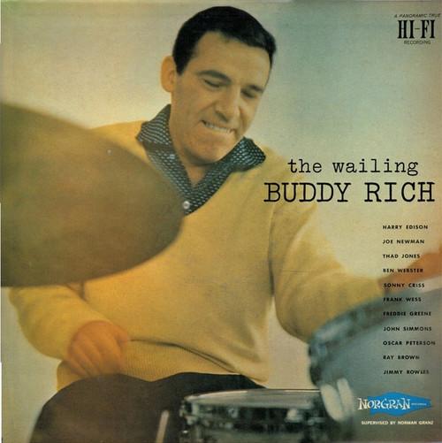 Buddy Rich - The Wailing Buddy Rich (Japanese Import NM)