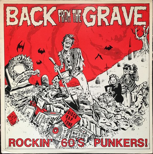 Various – Back From The Grave ( Original 1983 on Crypt - NM/NM