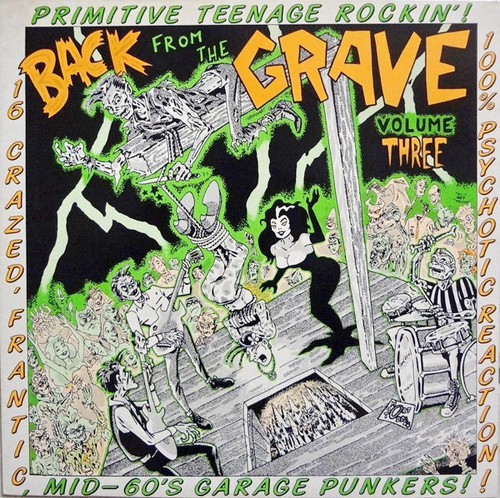 Various - Back From The Grave Volume Three (NM/NM)