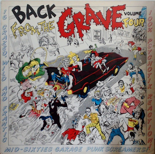 Various - Back From The Grave Volume Four (NM/NM)