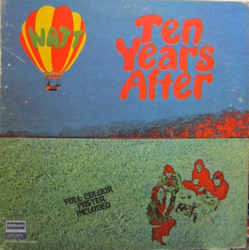 Ten Years After - Watt ( Superb NM copy with mint poster)