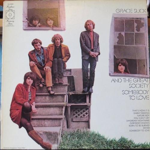Grace Slick - Somebody To Love ( NM vinyl )