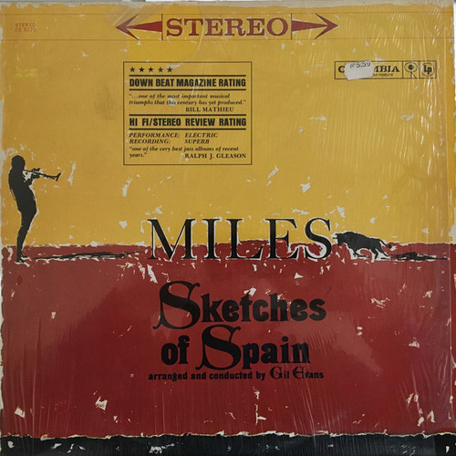 Miles Davis - Sketches Of Spain (shrink)