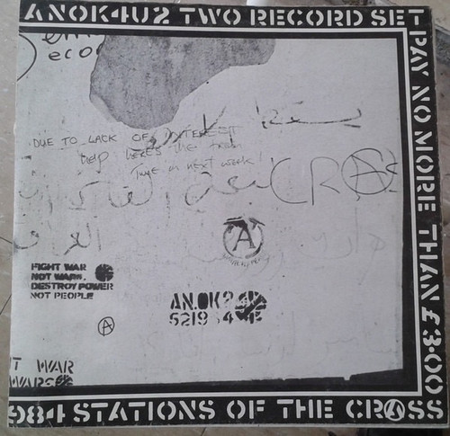 Crass - Stations Of The Crass (1st UK NM)