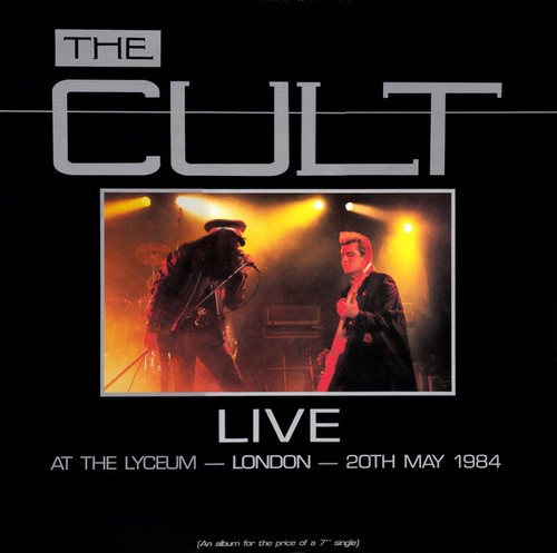 The Cult - Live At The Lyceum, London