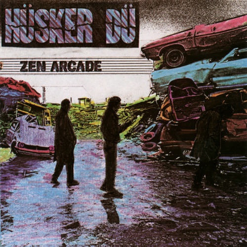 Hüsker Dü Zen Arcade 1984 UK see description