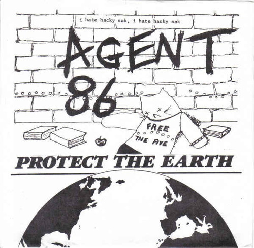 Agent 86 - Protect The Earth (NM with sticker)