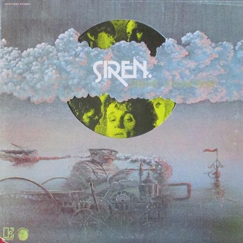 Siren - Strange Locomotion (1971 USA die cut cover NM - Kevin Coyne)