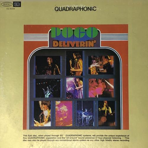 Poco - Deliverin' (Quadrophonic Pressing)