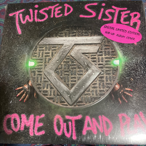 Twisted Sister - Come Out And Play (Sealed Original USA pressing, pop up cover, hype sticker)