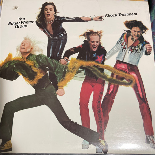 The Edgar Winter Group - Shock Treatment (Original Sealed 1974)