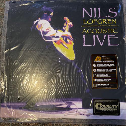 Nils Lofgren - Acoustic Live  (Analogue Productions 2LP 200g)