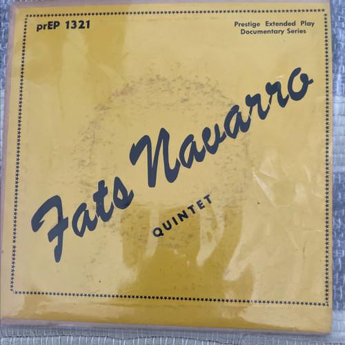 "Fats Navarro Quintet - Infatuation (Early Prestige 7"" VG/VG+)"